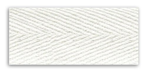 Trimplace White 1 INCH Heavy Twill Tape 10 Yards-100% Cotton