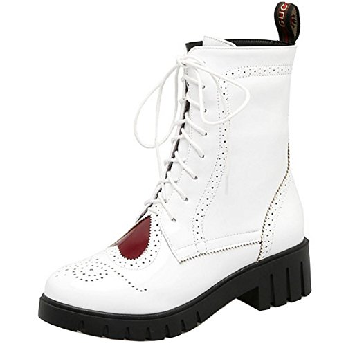 Shoes Winter Boots Autumn Women Short White Flat KemeKiss Martin Comfort wqA8qYP