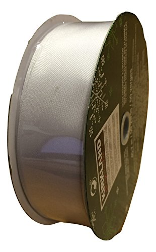 Kirkland Signature Wire-edged Ribbon 50 Yards/45.7 M SILVER 16AB01