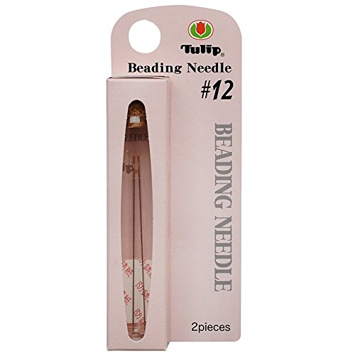 Tulip XTL-3025 Size 12 Beading Needles (2 Pack), 47.5 x 0.35mm by Tulip