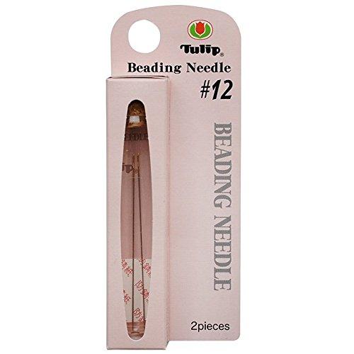 Tulip XTL-3025 Size 12 Beading Needles (2 Pack), 47.5 x 0.35mm