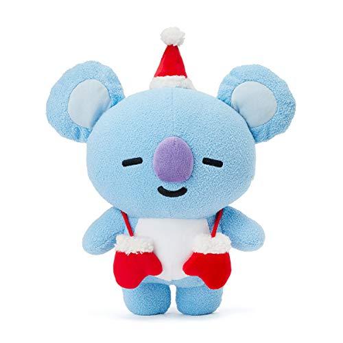 (LINE FRIENDS BT21 Official Merchandise KOYA Character Winter Standing Plush Toy Doll 10)