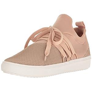 Steve Madden Women's Lancer Fashion Sneaker, Blush, 7.5 M US