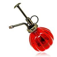 SENLIXIN Plant Mister Flower Water Spray Bottle Can Pot   Vintage Pumpkin Style Decorative Glass Plant Atomizer Watering Can Pot with Top Pump for Indoor Potted Plants Terrariums Flowers