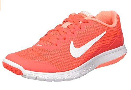 Nike Mens Flex Experience RN (BRIGHT CRIMSON/ATOMIC PINK/WHITE/WHITE) Running Shoe, BRIGHT CRIMSON/ATOMIC PINK/WHITE/WHITE, 43 B(M) EU/8.5 B(M) UK