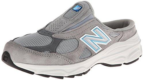 New Balance Women's W990 Slide Shoe,Grey,10 B US (New Balance Clogs)