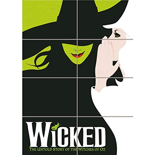 Doppelganger33LTD WICKED BROADWAY MUSICAL BOOK OZ WITCH NEW GIANT WALL ART PRINT POSTER ()