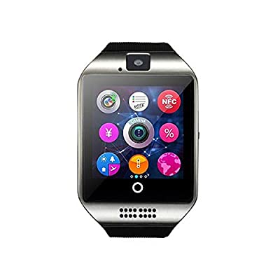 Smart Watch Touch Screen Smartwatch with Camera and SIM Card TF/SD Card Slot Pedometer Activity Tracker for Android iOS Phones Samsung