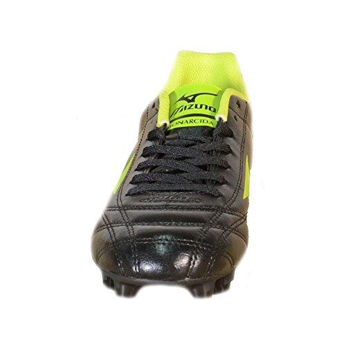 Mizuno pour de Football nbsp;MIZUNO Homme MD Noir Noir nbsp;– Vert monarcida 152409 en Chaussures Cuir Noir rqX0r4x