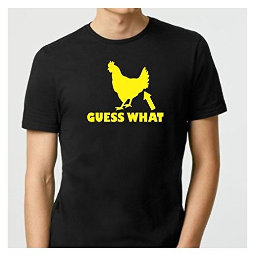 (Guess What Chicken Butt | Funny Adult T-Shirts | Funny Sarcastic T-shirt | Gifts for Boyfriend | Gift for Men | Gift for Friend | Gifts for Him | Christmas Gift)