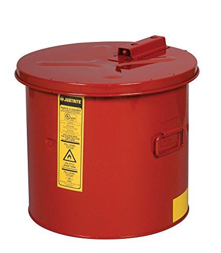 Justrite 27605 14'' Height x 15'' Width x 16'' Diameter Dip Tank - 5 Gallon Capacity by Justrite
