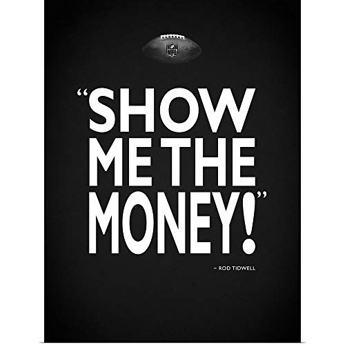 - GREATBIGCANVAS Poster Print Entitled Jerry Maguire - Show Me by Mark Rogan 12