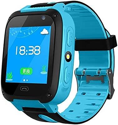 Pulsera inteligente TX Smart Watch para niños con GPS, Reloj para niños Smartwatch GPS Tracker gsm Sim Pantalla táctil SOS Call Voice Chatting Activity Tracker para niños niñas: Amazon.es: Deportes y aire