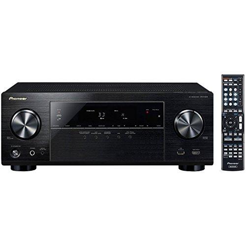 Best of Pioneer VSX-824 5.2-Channel Network A/V Receiver (Black) + Klipsch HDT-600 Home Theater System Bundle