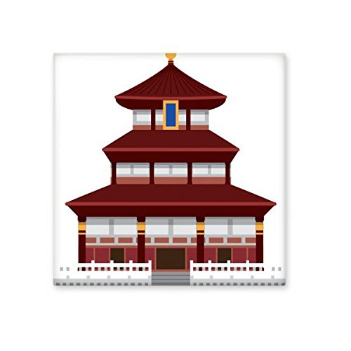 China Chinese Architecture Temple of Heaven Landmark Traditional Culture Illustration Pattern Ceramic Bisque Tiles for Decorating Bathroom Decor Kitchen Ceramic Tiles Wall Tiles 30%OFF