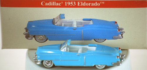 New Mib Mint - 2001 - High Speed Series - Reader's Digest Inc - 1953 Cadillac Eldorado Convertible - Power Blue / White Interior - White Wall Tires - MIB - Out of Production - New - Mint - Collectible