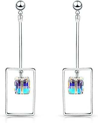 "T400 Jewelers Eco-friendly Alloy ""Light of Dream"" Swarovski Elements Crystal Exaggerated Drop Earrings Gift"