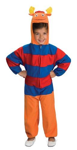 Rubies Backyardigans Deluxe Child Costume, Tyrone, Small - Backyardigans Pablo Costumes