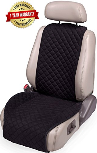 (IVICY Car Seat Cover Protector Cushion - Car Seat Protector - Car Seat Cushion - Premium Covers for Women, Men, Girls, Boys - Fits Most Cars, Truck, SUV, or Van - 1-pc)