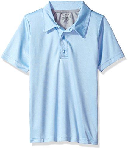 f1112133 Galleon - Cherokee Boys' Uniform Short Sleeve Performance Polo Shirt