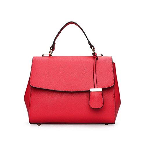 Pu Lavoro Simple Shoulder deve Quattro un prodotto colori Una Shotbaon avere Elegante Women grigio Messenger rosso Bag donna I8WqE