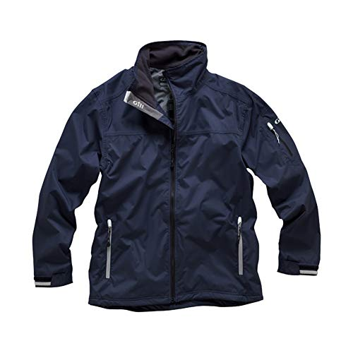 Gill Foul Weather - Gill Men's Fishing Sailing Crew Sport Jacket, Navy, Small