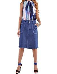 Simple Days Jean Skirt