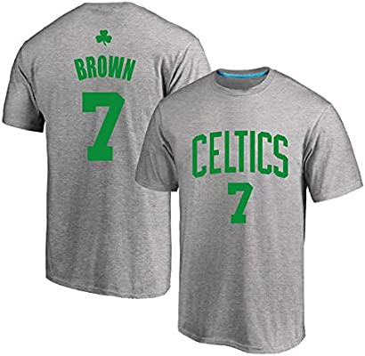 AMJUNM Traje de Baloncesto Masculino Boston Celtics 7# Brown ...