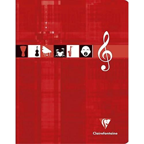 Clairefontaine Metric - Libreta de música/canto (cuadros grandes ...