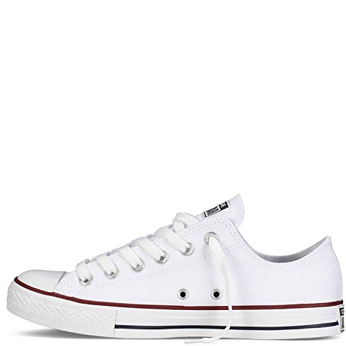 Converse Unisex Chuck Taylor All Star Ox Sneakers Optisch Wit 8.5 D (m) Ons