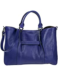 women\u0027s leather handbag shopping bag purse purple. Longchamp