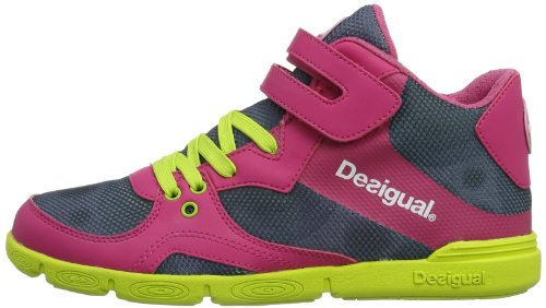 Desigual Rosso rot 3089 Donna Sneaker Acid fresa Tendencia PwqPTxrt