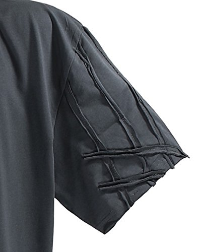 LV 115 Anthrazit Lavecchia Herren Übergröße T-Shirt 3-8 XL