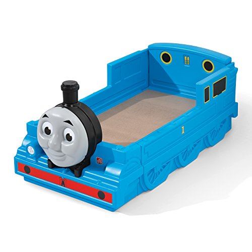 41OGAaVgQ2L - Step2 Thomas The Tank Engine Toddler Bed