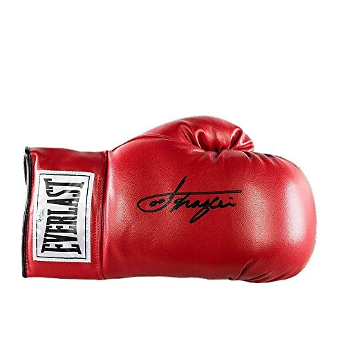 Joe Frazier Signed Boxing Glove - Red Everlast Autograph - Autographed Boxing Gloves ()