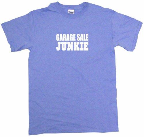Garage Sale Junkie Men's Tee Shirt 3XL-Light Blue