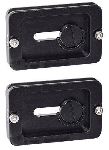 2 Pack DP-60 60mm QR Lens / Camera Body Plate Arca & RRS Compatible w D-Ring Desmond by Desmond