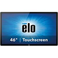 Elo Touch E222373 4602L 02 Series Projected Capacitive 46 Interactive Digital Signage, USB Touch Controller I/F, Worldwide-Version, Clear Glass, Gray