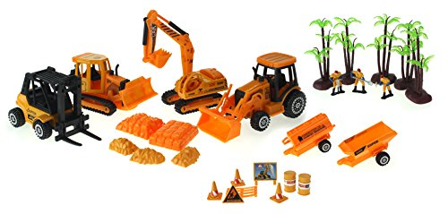 Super Power Century Construction Toy Construction Vehicle Die
