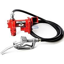 12V DC High-Flow 20 GPM Fuel Transfer Pump for Gasoline, Diesel Fuel, Kerosene, Mineral Spirits, Heptane, Hexane, E15, Biodiesel, and Similar Fuels or Oils