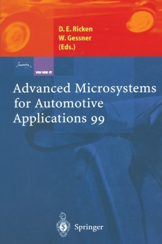 Advanced Microsystems for Automotive Applications 99 (VDI-Buch)