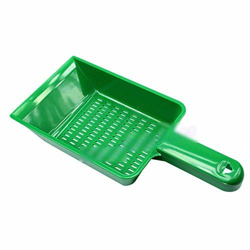 Kitten Sand Waste Scooper Shovel Plastic Litter Scoop Clean Tool for Pet Dog ()