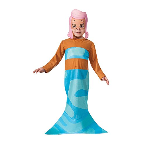 Rubies Bubble Guppies Molly Costume, Child Small (Nick Jr Halloween Costumes)