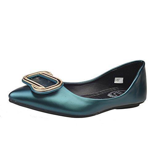 Primavera y otoño zapatos puntiagudos del ocio/Planos/Zapatos de las mujeres planas de Corea B