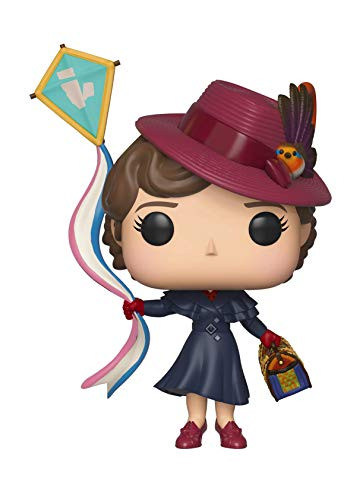 Funko Pop Disney: Mary Poppins Returns - Mary with Kite Collectible Figure, Multicolor, Standard