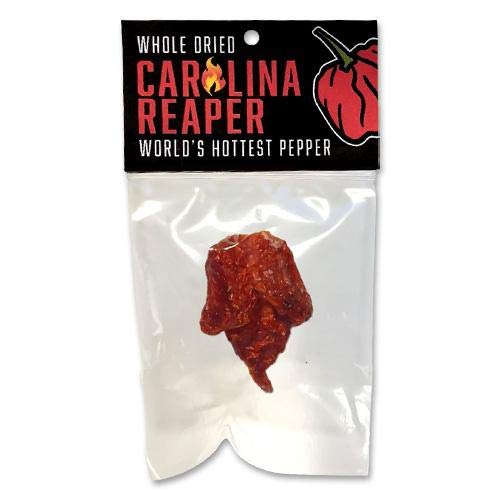 (Single Whole Carolina Reaper Pepper)