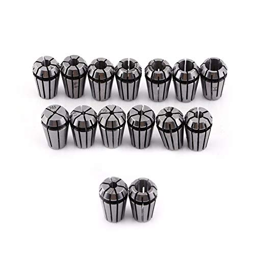 Er11 Spring Collet Set - 15pcs Lot Er11 Spring Collet Set Engraving Machine Milling Lathe Tool Chuck - Vomit Throw Toss Sick Chow Ferrule - Bison Spindle Chuck