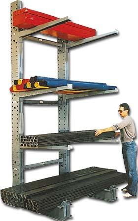 Rack Meco (Modern Equipment Co. (Meco), Single Sided Uprights , Hu861, Base: 61