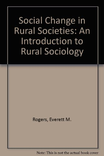 Download Social Change in Rural Societies: An Introduction