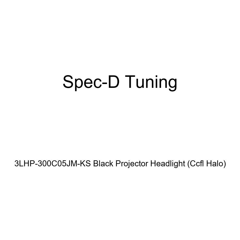 Ccfl Halo Spec-D Tuning 3LHP-300C05JM-KS Black Projector Headlight